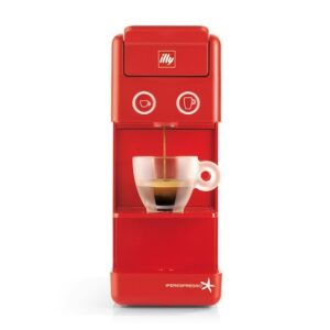 Francis Francis Y3.2 Iper és filter kapszulás kávéfőzőgép, piros