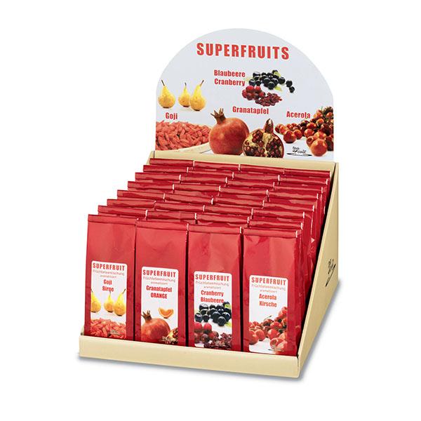 Szálas gyümölcsteák szupergyümölcsökkel, természetes gyógyhatással, egészségmegőrzésre is