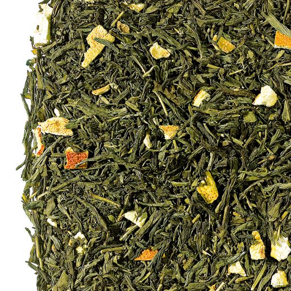 Zahara Earl Grey Green zöld szálas tea keverék