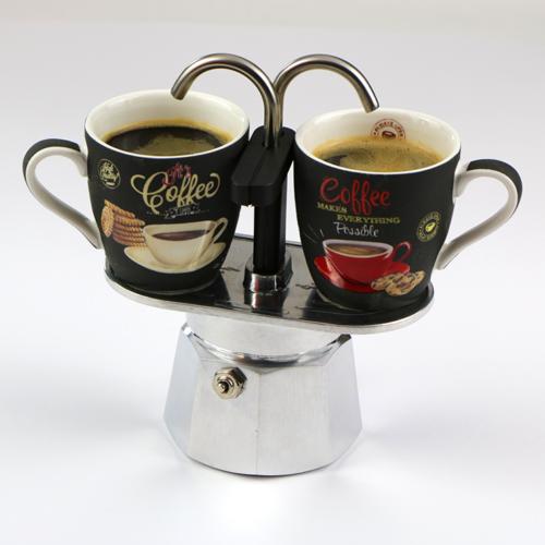 Bialetti Mini Express kotyogós kávéfőző