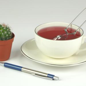 Sense platinum porcelán teás csésze + alj szett 2 db 25 cl