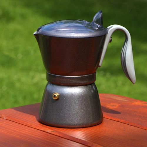Olasz SUPER ALU kotyogós kávéfőző 4 személyes