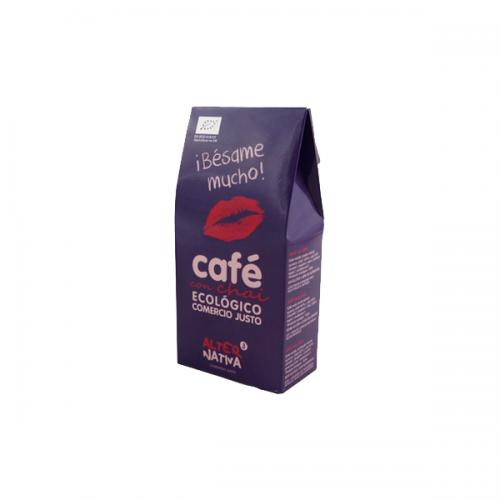 AlterNativa Besame mucho! Csókolj meg! ízesített bio fair-trade őrölt kávé