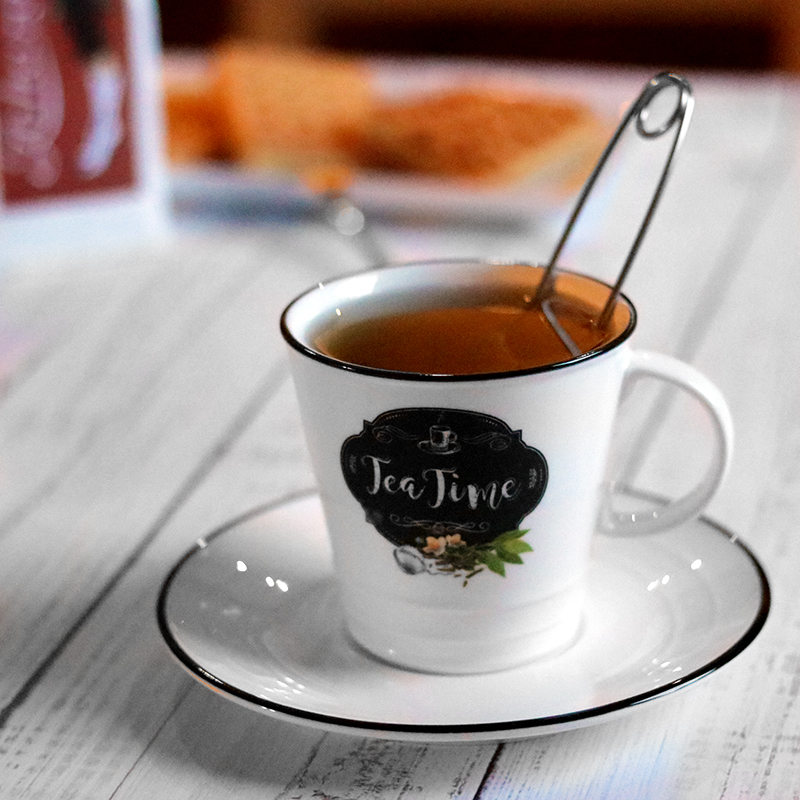 Easy Life porcelán kerámia teáscsésze