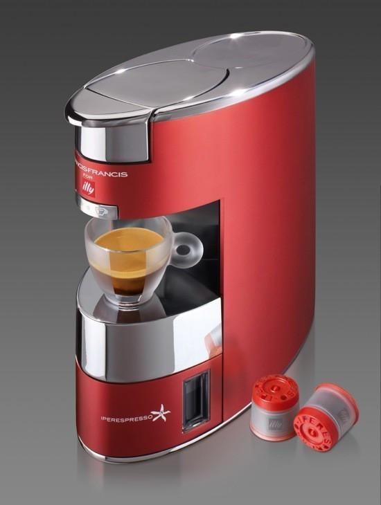Francis Francis X9 Iper kapszulás kávéfőzőgép, bord