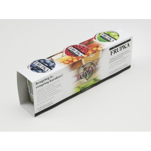 Frupka 3 db-os sült gyümölcs tea díszdoboz