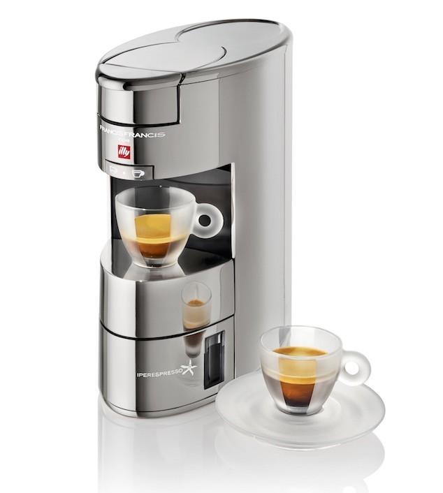 Francis Francis X9 Iper kapszulás kávéfőzőgép, króm