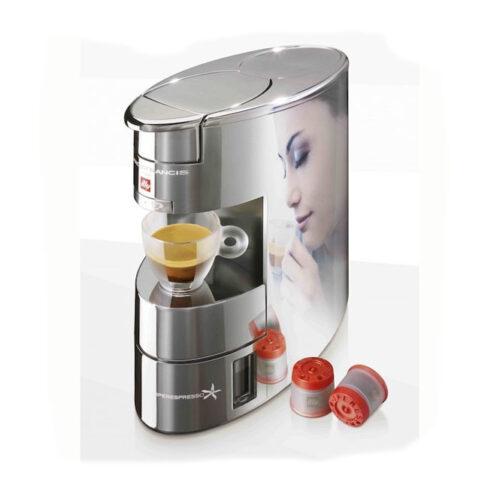 illy francisx9 illy kapszulás kávéfőzőgép kávégép króm