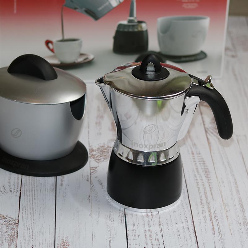Kotyogós kávéfőző 4 személyes készlet
