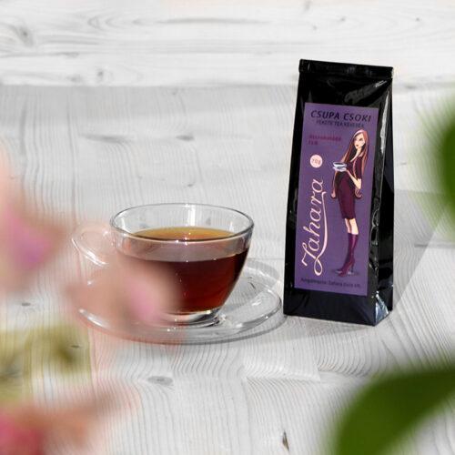 Szálas fekete tea keverék - Zahara Csupa Csoki
