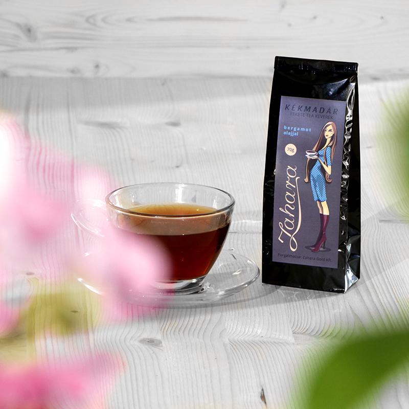 Szálas Earl Grey / Lady Grey tea keverék - Zahara Kékmadár
