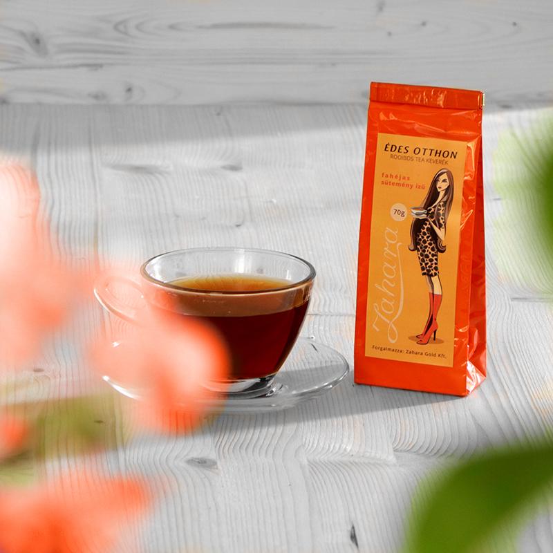 Szálas rooibos tea keverék - Zahara Édes Otthon