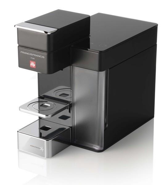 Illy Francis Francis Y5 Duo Iper és filter kapszulás kávéfőzőgép, fekete