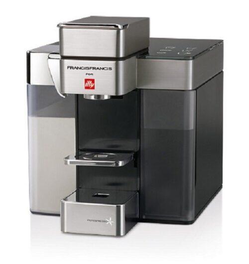 Illy Francis Francis Y5 MILK Iper és filter kapszulás kávéfőzőgép, fehér