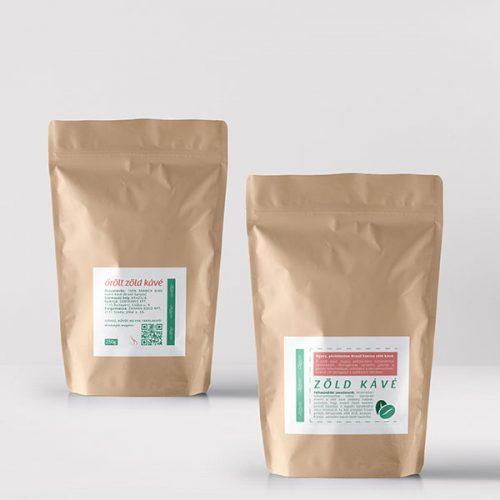 Zahara őrölt zöld kávé