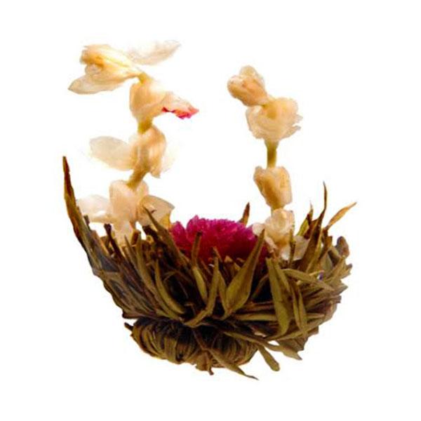 Zahara Virágzó tea zöld tealevelekből virágszirmokkal