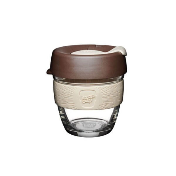 KEEPCUP BREW ÜVEG COFFEE TO GO POHÁR KÁVÉS TERMOSZ ROAST 227 ML