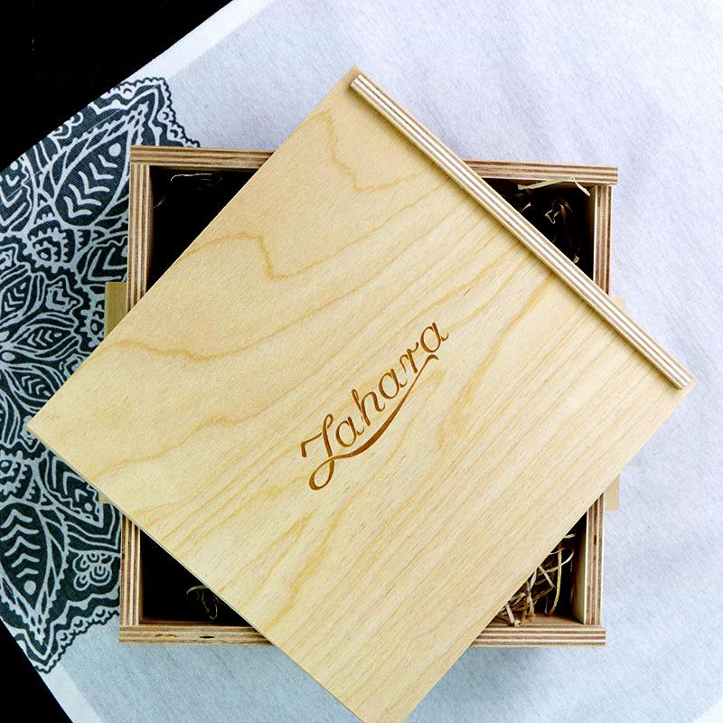 Fadobozos ajándékcsomag szálas teával Nőknek
