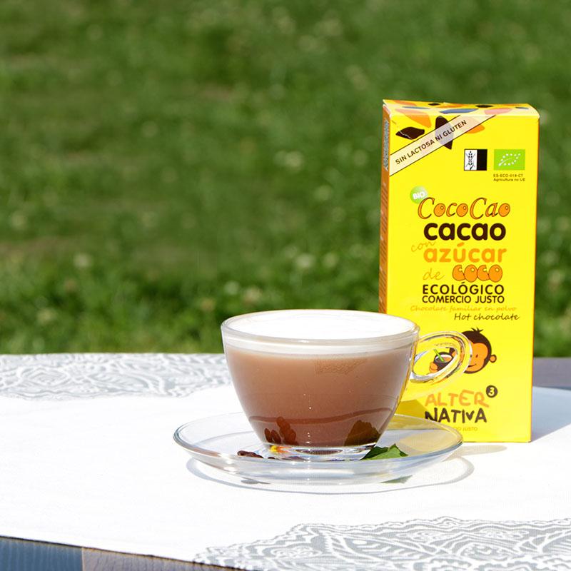 Mentás csokis cappuccino elkészítése - jegeskávé recept