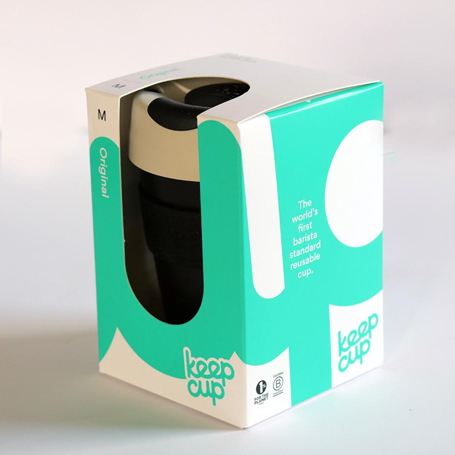 KeepCup Clear coffee to go Nitro M hordozható kávéspohár