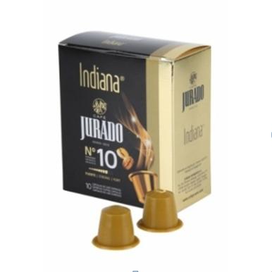 Jurado Indiana Nespresso kompatibilis kávékapszula 10 db