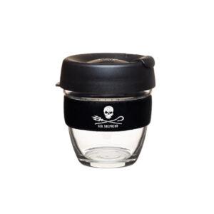 KEEPCUP BREW ÜVEG COFFEE TO GO HORDOZHATÓ POHÁR KÁVÉSPOHÁR TERMOSZ SEA SHEPHERD 227 ML