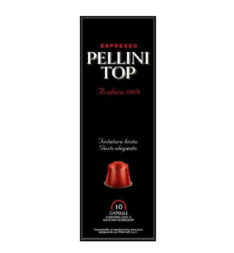 P025090_PELLINI TOP 100% ARABICA KÁVÉKAPSZULA TOP 10x5GR Nespresso kompatibilis