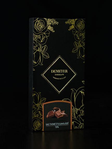SAO Thomé táblás étcsokoládé kézműves csokoládé kézműves csoki2