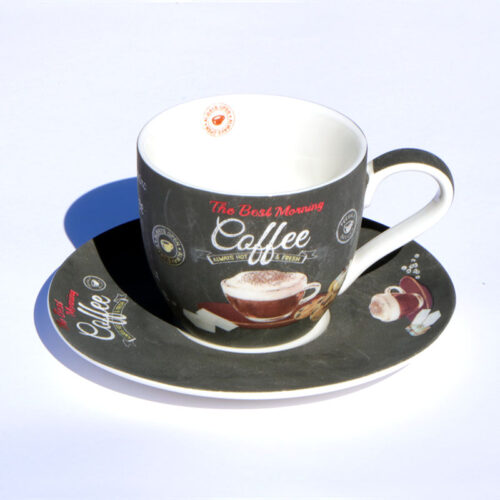 espresso csésze retro barna kávés csésze cappuccino csésze