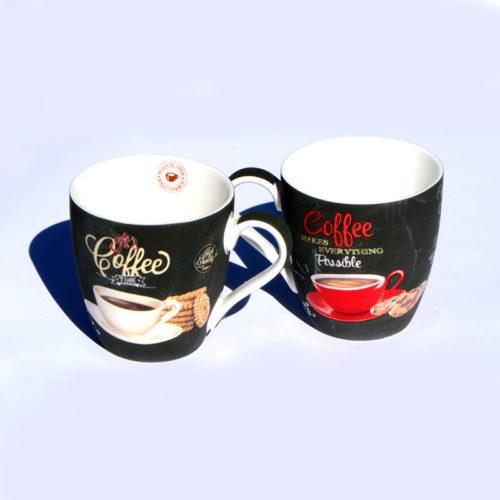 COFFEE TIME Porcelán csésze szett capppuccino bögre retro kávés bögre kávéés csésze