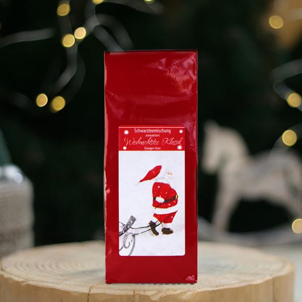 Narancsos karácsonyi szálas fekete tea keverék