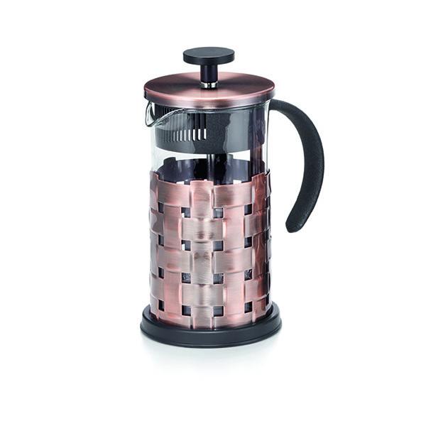 French Press dugattyús tea- és kávéfőző 3,5dl