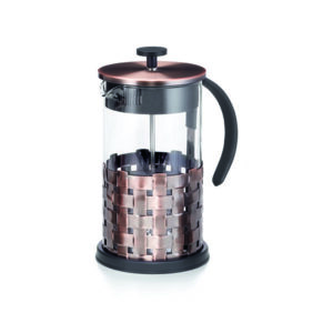 French Press dugattyús tea- és kávéfőző 1l