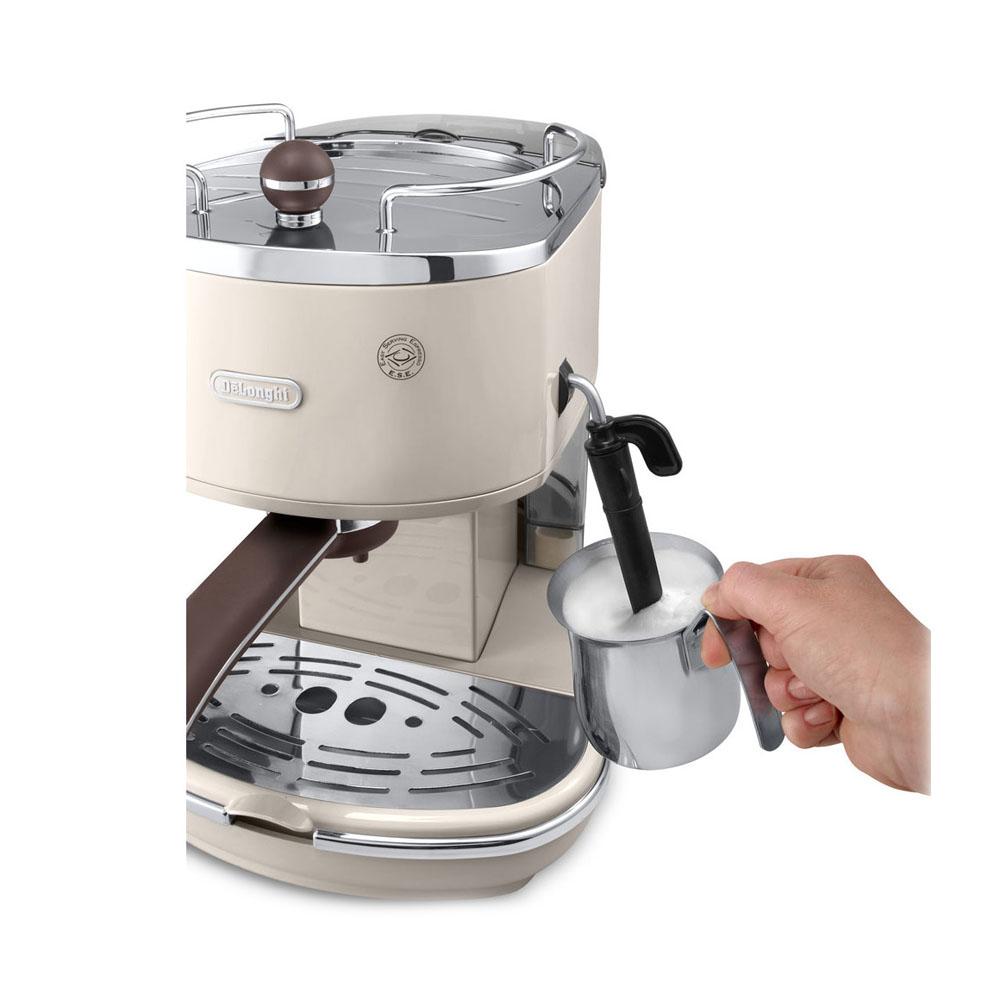 Delonghi kavegep ECOV311 karos kávéfőző karos kávégép bézs
