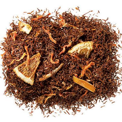Narancsos marcipános rooibos tea