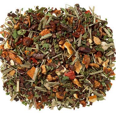 Kakaós narancsos gyógynövény tea - karácsonyi tea
