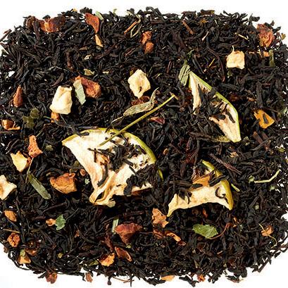 Kandírozott almás fekete tea - karácsonyi tea