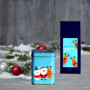 Mikulás csomag karácsonyi tea és teadoboz
