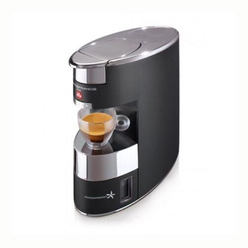 illy francisx9 illy kapszulás kávéfőzőgép kávégép fekete