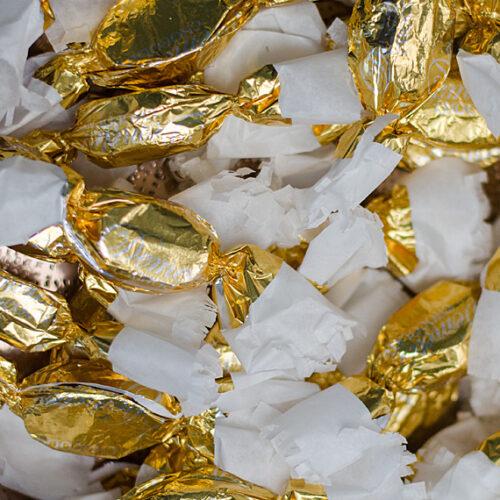 Sós karamelles és Tokaji aszú krémes kézműves szaloncukor