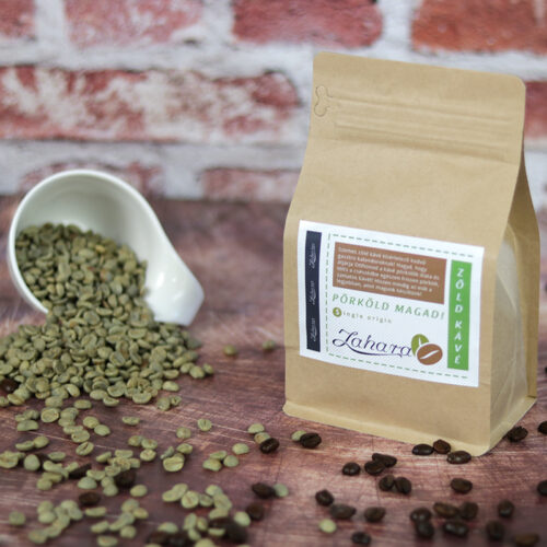 Zahara Pörköld magad! szemes zöld kávé