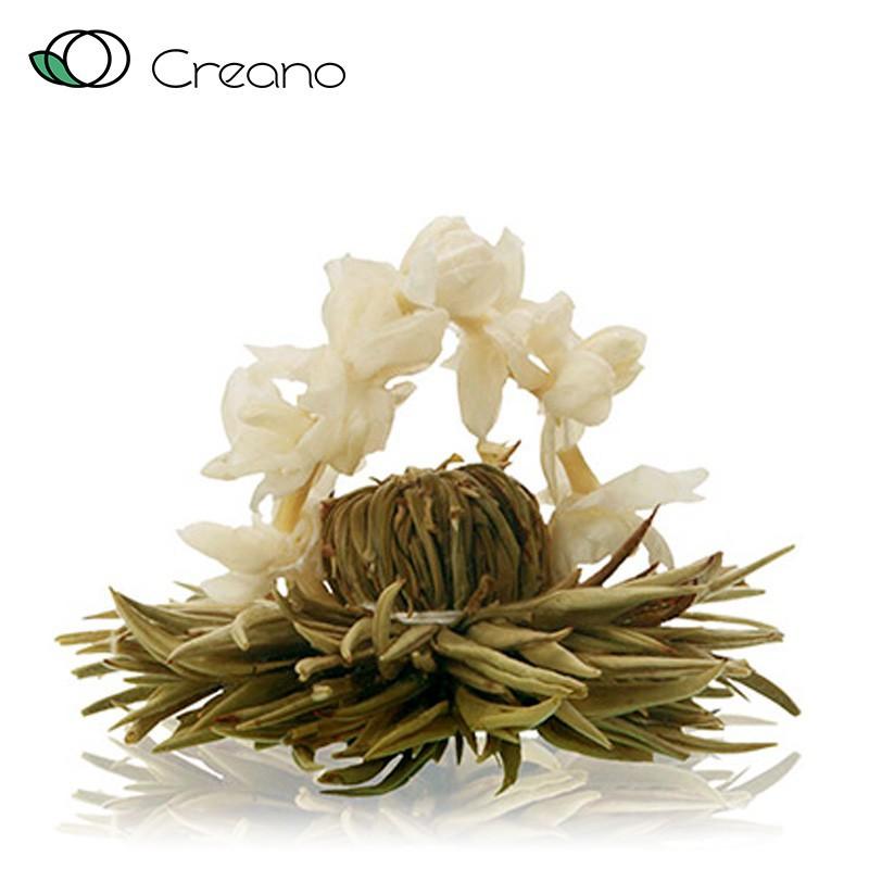 Virágzó tea - fehér tea - ezüst lakodalom