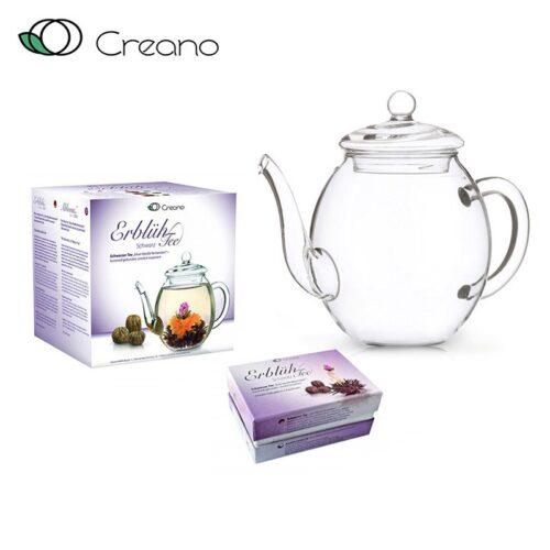 Virágzó tea szett - fekete tea