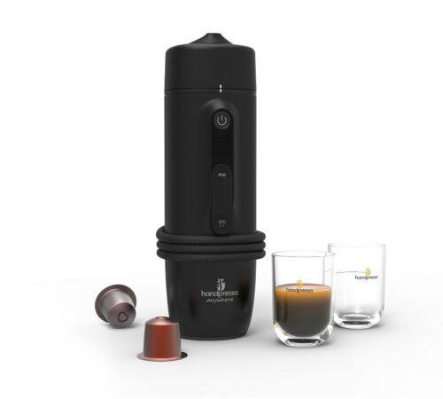 Hordozható kávégép handpresso kapszulás