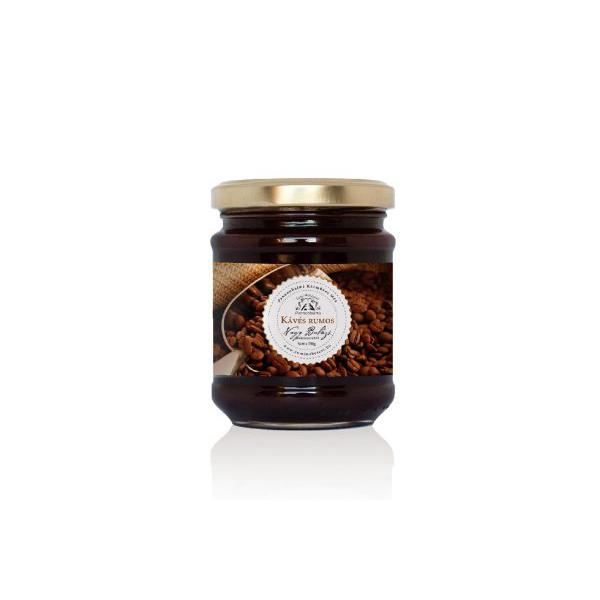 Ízesített méz - kávés rumos