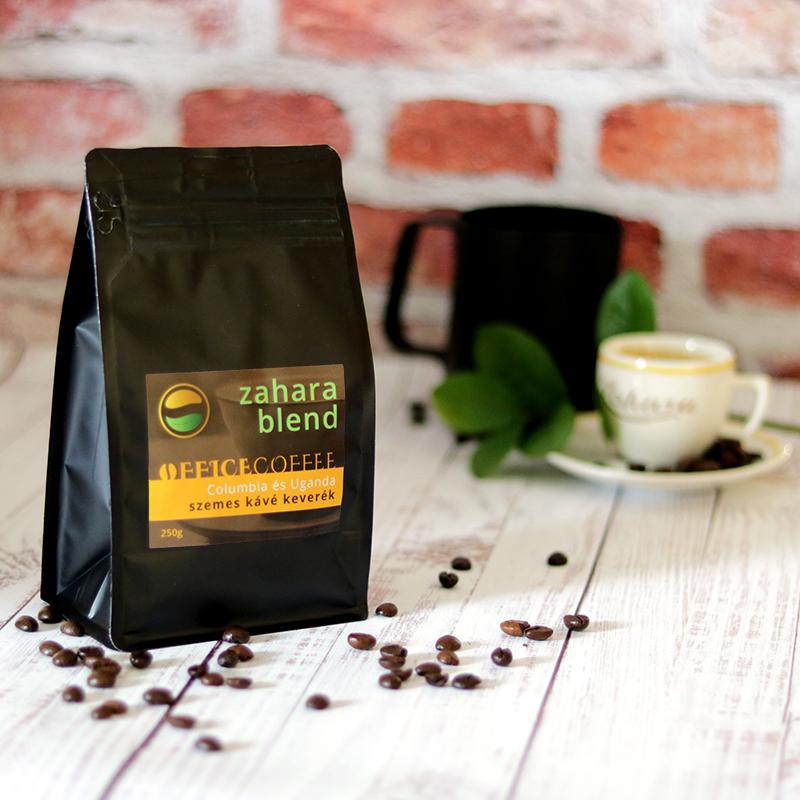OfficeCoffee Zahara blend frissen pörkölt szemes kávé columbiai arabicával