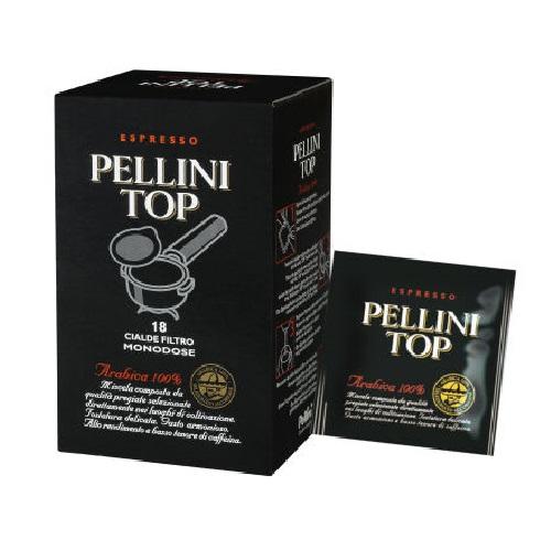Pelini Top arabica egyadagos-ESE POD kávépárna, 18 adag