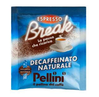 Pelini egyadagos-ESE POD kávépárna, koffeinmentes - 50 adag