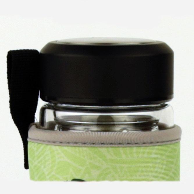 kávé tea üveg termosz kulacs bpa mentes rozsdamentes szűrővel