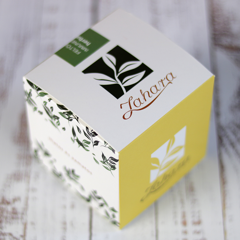 Élénkítő és immunerősító gyógynövény tea válogatás doboz - Zahara tea